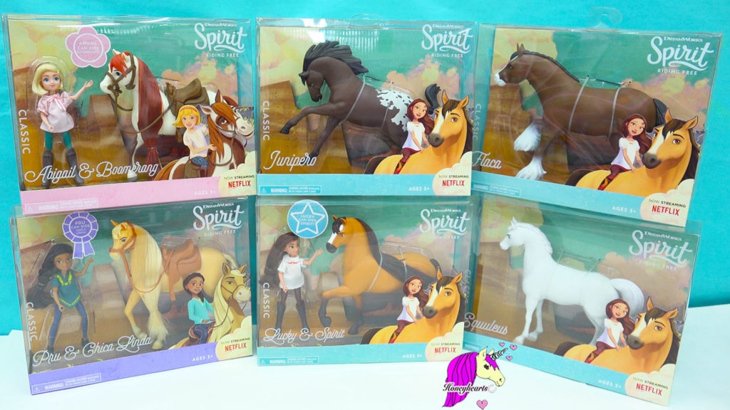 Spirit Riding Free Horses Set Boxes