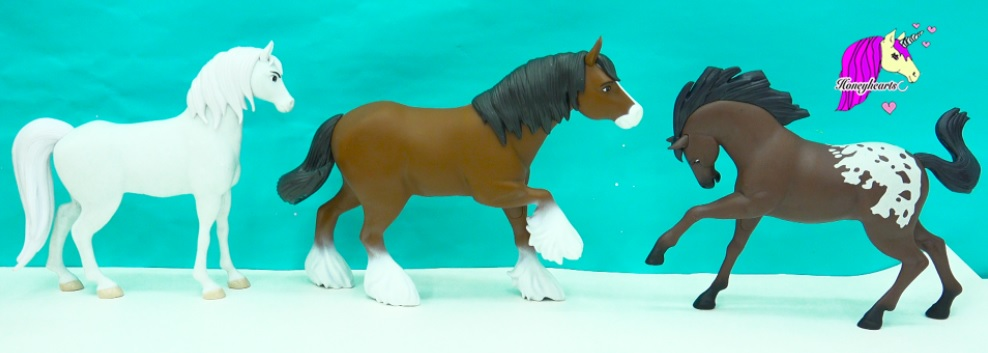 spirit riding free horses set horse classic size