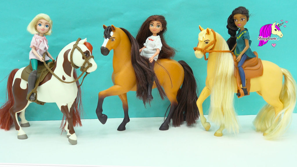 spirit riding free horses set riders